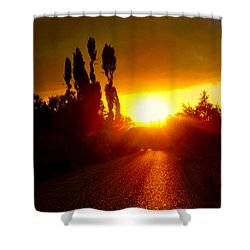 Hit The Road Jack Shower Curtain