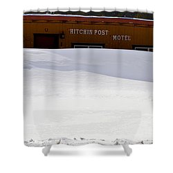 Hitchin' Post April Shower Curtain by Jeremy Rhoades