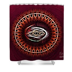 Hj-eye Shower Curtain