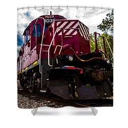 Shower Curtain featuring the photograph Hlcx 1035 by Bartz Johnson