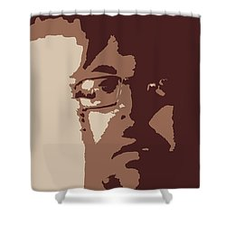 Hmmmmm Landscpape  Shower Curtain