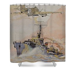 Hms Ashanti Shower Curtain