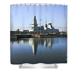 Hms Dauntless Shower Curtain