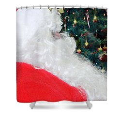 Shower Curtain featuring the photograph Santa Claus by Vizual Studio