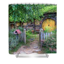 Hobbit Hole 2 Shower Curtain