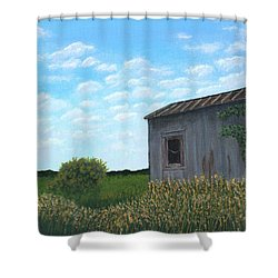 Hobo Heaven Shower Curtain