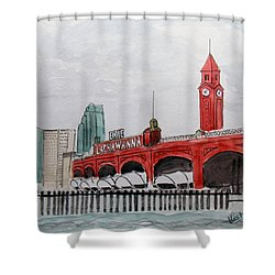 Hoboken Shower Curtain