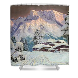Hocheisgruppe Shower Curtain by Alwin Arnegger
