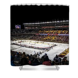 Hockey City Classic Shower Curtain by Tom Gort