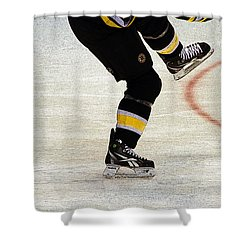 Hockey Dance Shower Curtain by Karol Livote