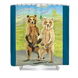 Hoedown On The Tundra Shower Curtain