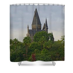 Hogwarts Castle 1 Shower Curtain