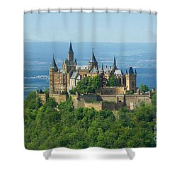 Hohenzollern Castle 5 Shower Curtain