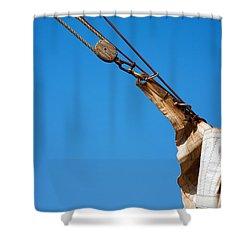 Hoist The Sails. Shower Curtain
