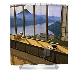 Hokusai Shower Curtain