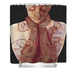 Hold In  Shower Curtain by Graham Dean