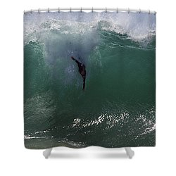 Hold Your Breath Shower Curtain