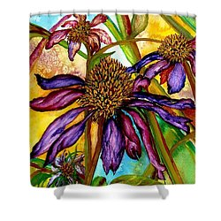 Holding On To Summer Sold Shower Curtain by Lil Taylor