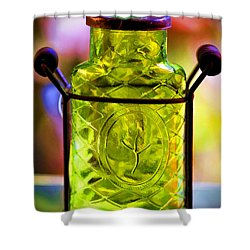 Shower Curtain featuring the photograph Holding Spring by Jaki Miller