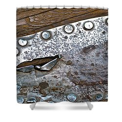 Hole Patch 3 John Muir Woods Shower Curtain by Bill Owen