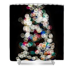 Holiday In Color Shower Curtain by Aaron Aldrich