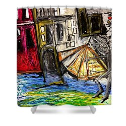 Holiday In Venice Shower Curtain