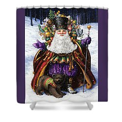 Holiday Riches Shower Curtain