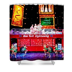 Holiday Sightseeing Shower Curtain