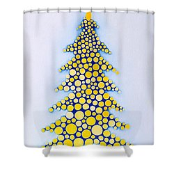 Holiday Tree #2 Shower Curtain