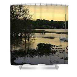 Hollingsworth Sunset Shower Curtain by Laurie Perry