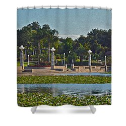 Hollis Gardens II Shower Curtain