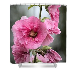 Hollyhock Shower Curtain