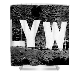 Hollywood II Shower Curtain by La Dolce Vita