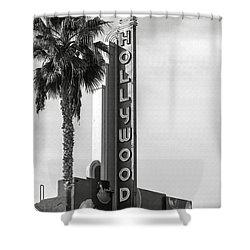 Hollywood Landmarks - Hollywood Theater Shower Curtain