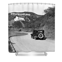 Hollywoodland Shower Curtain