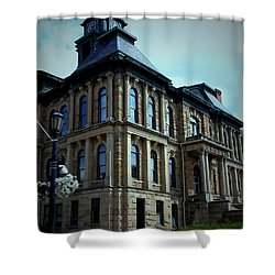 Holmes County Ohio Courthouse Shower Curtain