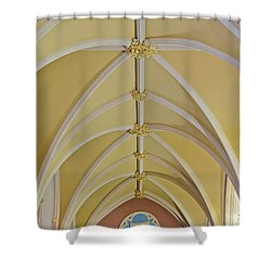 Holy Arches Shower Curtain by Susan Candelario