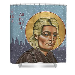 Holy Prophet Dorothy Day 154 Shower Curtain