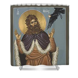 Holy Prophet Elijah 009 Shower Curtain