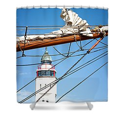 Home At Last Shower Curtain