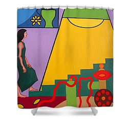 Home At Last Shower Curtain by Patrick J Murphy