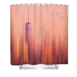 Towards Freedom Shower Curtain