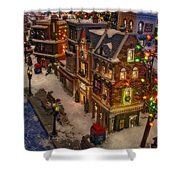 Shower Curtain featuring the photograph Home For The Holidays by GJ Blackman