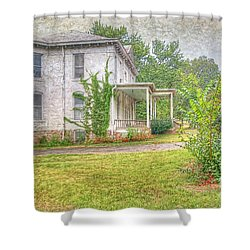 Shower Curtain featuring the photograph Home Is Where The Heart Is by Liane Wright