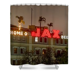 Shower Curtain featuring the photograph Home Of Jax by Tim Stanley