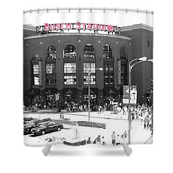 Home Of The Cardinals Shower Curtain