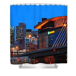 Home Of The Celtics And Bruins Shower Curtain