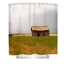 Home On The Range  Shower Curtain by Jeff Swan