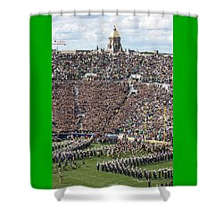 Home Opener 2012 Shower Curtain by Michael Cressy