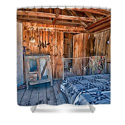 Home Sweet Home Shower Curtain by Cat Connor